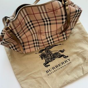 BURBERRY Haymarket Check Small Canterbury Tote